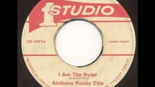 Anthony Rocky Ellis - I Am The Ruler