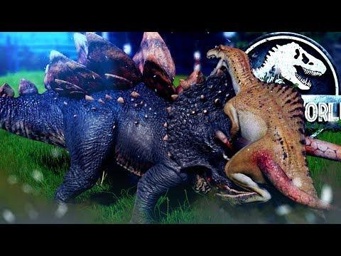 Jurassic World Evolution - HYBRID BATTLES & INDOM CAMO ABILITY! - Secrets of Dr. Wu DLC Gameplay |