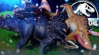 Jurassic World Evolution - HYBRID BATTLES & INDOM CAMO ABILITY! - Secrets of Dr. Wu DLC Gameplay