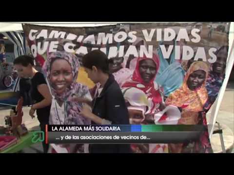 Jornada festiva y solidaria 'Vive La Alameda'
