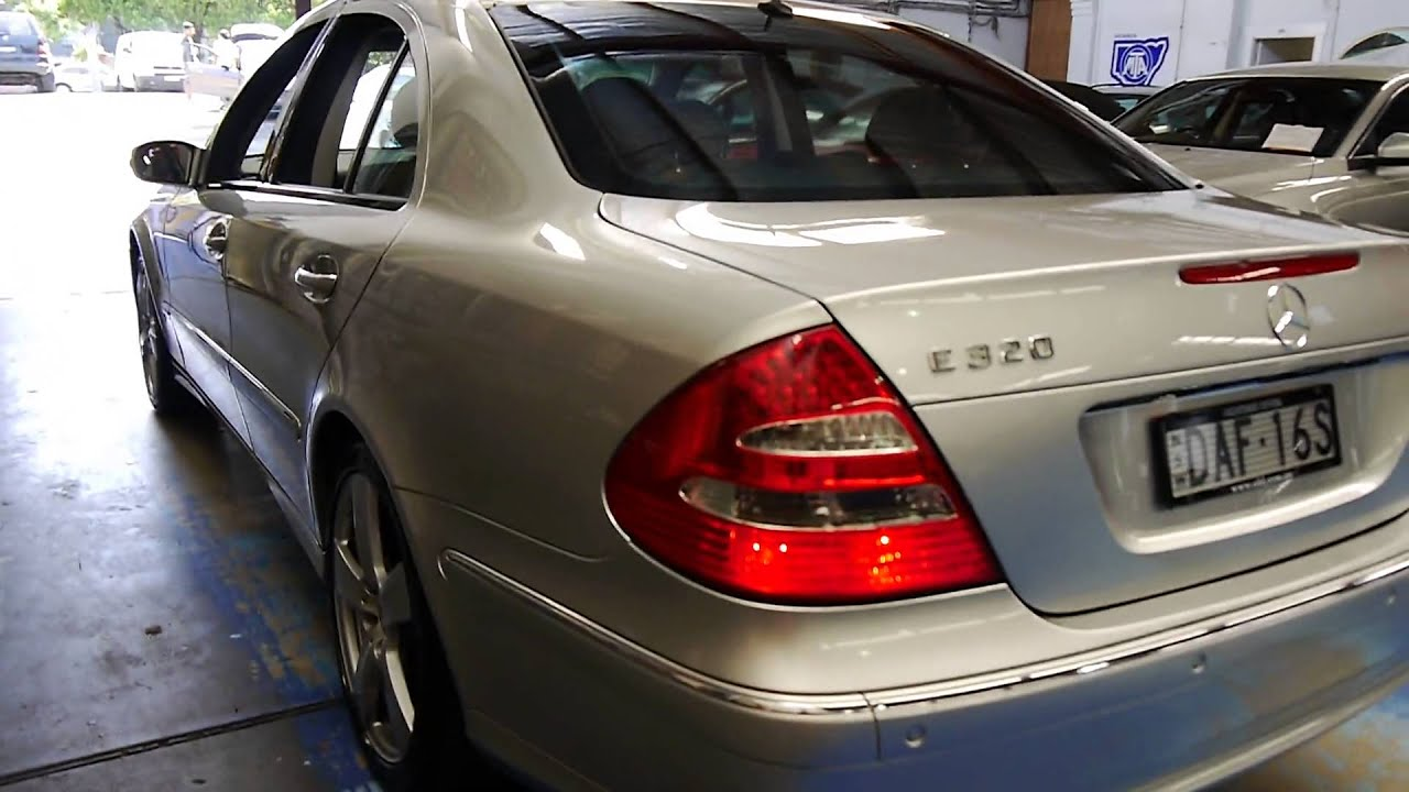 2004 mercedes benz e320 avantgarde w211 youtube for Mercedes benz 2004 e320
