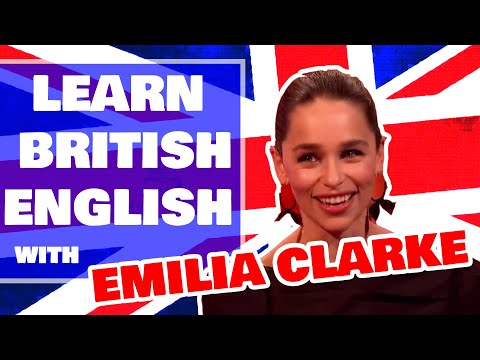 Learn English with TV - British GoT star Emilia Clarke talks about embarrassing Beyonce meeting