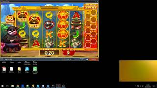Party Poker PANDA Slot (Bonus Games)