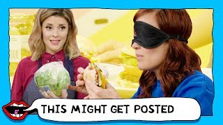 HOMEMADE BURGER VS RESTAURANT BURGER with Grace Helbig & Mamrie Hart