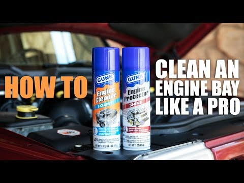 How to Clean Your Engine Bay Like a Pro