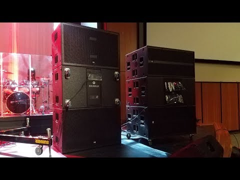 RCF SUB 9006 vs 8006 in Cardioid set up - YouTube