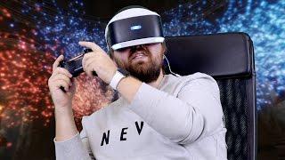Играем в PS VR: Batman, Driveclub, Resident Evil и др...(Записывайтесь на бесплатный курс GeekBrains