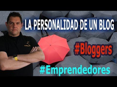 La personalidad de un blog
