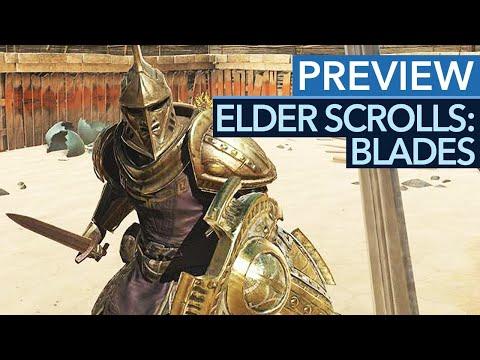 The Elder Scrolls: Blades - Gameplay-Preview: Skyrim-Feeling für die Hosentasche?