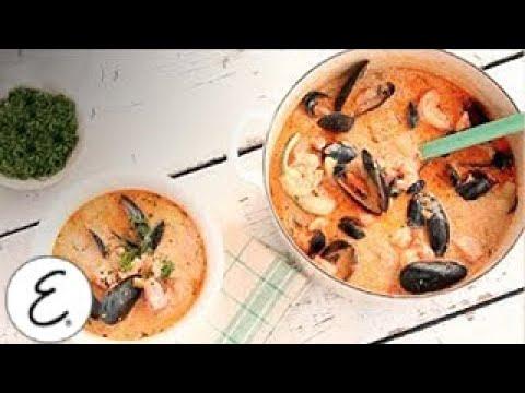 New England-Style Salmon And Shellfish Chowder | Emeril Lagasse