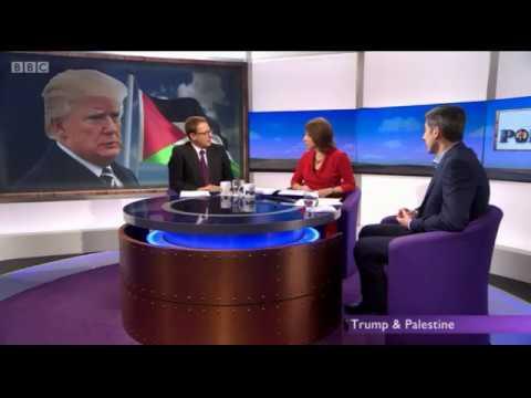 James Sorene discusses US UNRWA funnding on BBC Daily Politics