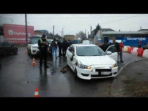 Авария Харьков/ ДТП 24.03.17 по улице Тюринская (Якира)