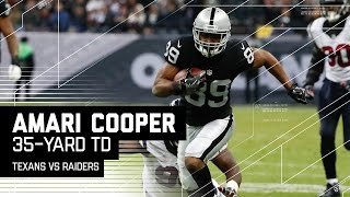 Derek Carr Hits Latavius Murray for 39-Yards & Amari Cooper for the TD! | Texans vs. Raiders | NFL