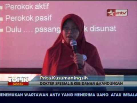 15 06 09, Kanker Mulut Rahim, Topik Siang ANTV