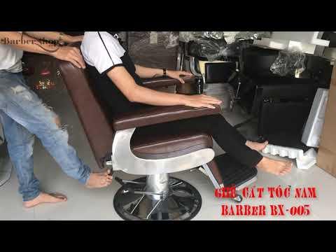 Ghế cắt tóc barber bx-005, ghế cắt tóc Salon, Tiệm Tóc giá rẻ tại Tân Bình