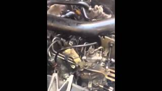 Démarrage d'un moteur xud 205 mais pas d'acceration