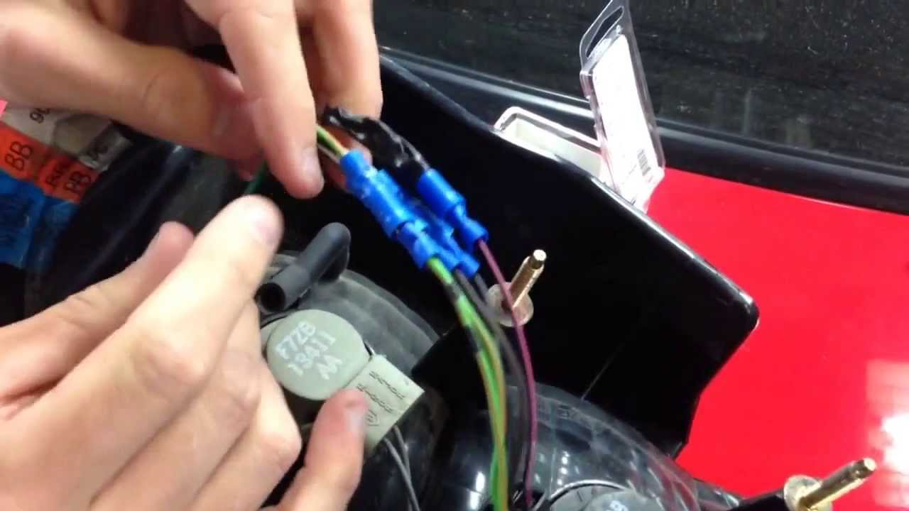 small resolution of 99 01 cobra tail light wiring how to video