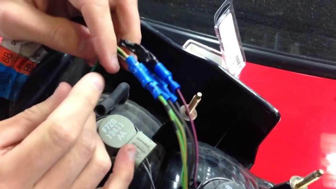 99 01 cobra tail light wiring how to video [ 1280 x 720 Pixel ]