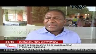 Zambeze sem risco de inundações: Chefe de Estado apela à população a estar atenta a informação