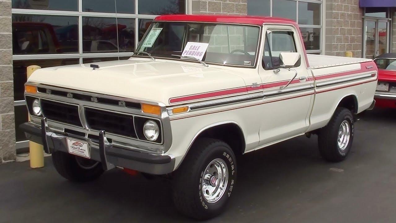 1975 ford f100 4x4 [ 1279 x 720 Pixel ]