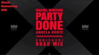 (Roadmix) Machel Montano and Angela Hunte - Party Done - Kubiyashi Roadmix