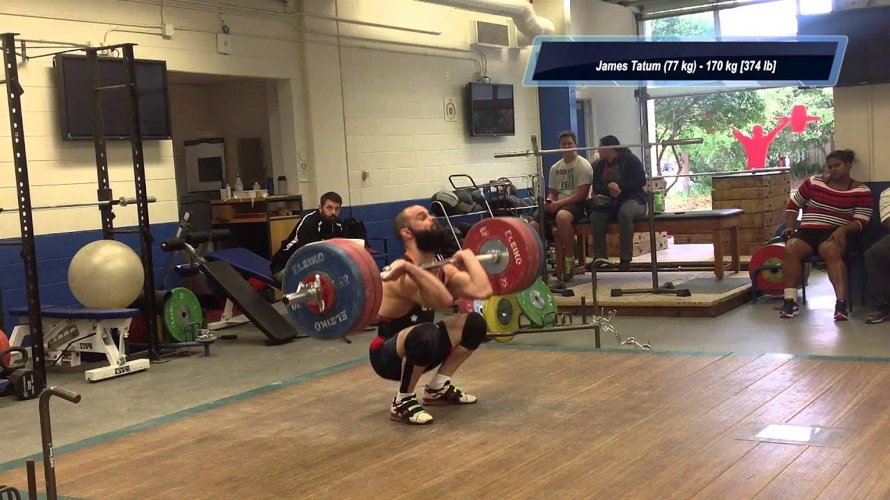 2014 Senior Weightlifting Pan Am Mock Meet - Men - YouTube
