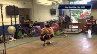 2014 Senior Weightlifting Pan Am Mock Meet - Men