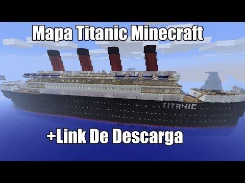 minecraft mapa titanic link de descarga del mapa