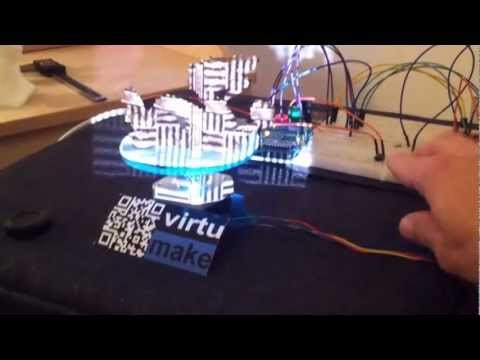 David 3D-Scanner with a DIY Arduino Turntable