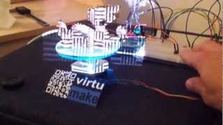 David 3D-Scanner with a DIY Arduino Turntable(A Chinese Dragon is scanned with a structured-Light-Scanner., 2012-12-10T05:23:52.000Z)