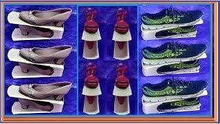 Como Fazer um Organizador de Sapatos