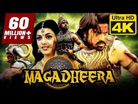 Magadheera (4K Ultra HD) Hindi Dubbed Movie | Ram Charan, Kajal Aggarwal, Dev Gill, Srihari