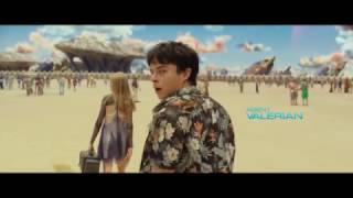 Valerian and the City of a Thousand Planets Teaser Trailer VO