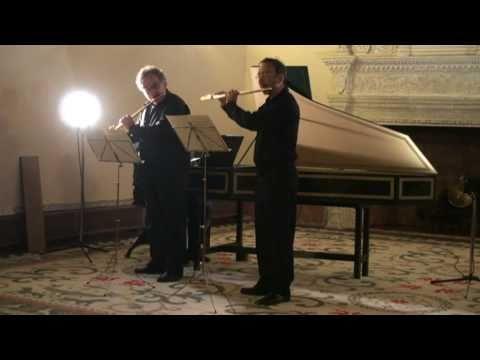 J.S.Bach - Sonate BWV 1028 3º mov. Claudi Arimany, Horacio Parravicini