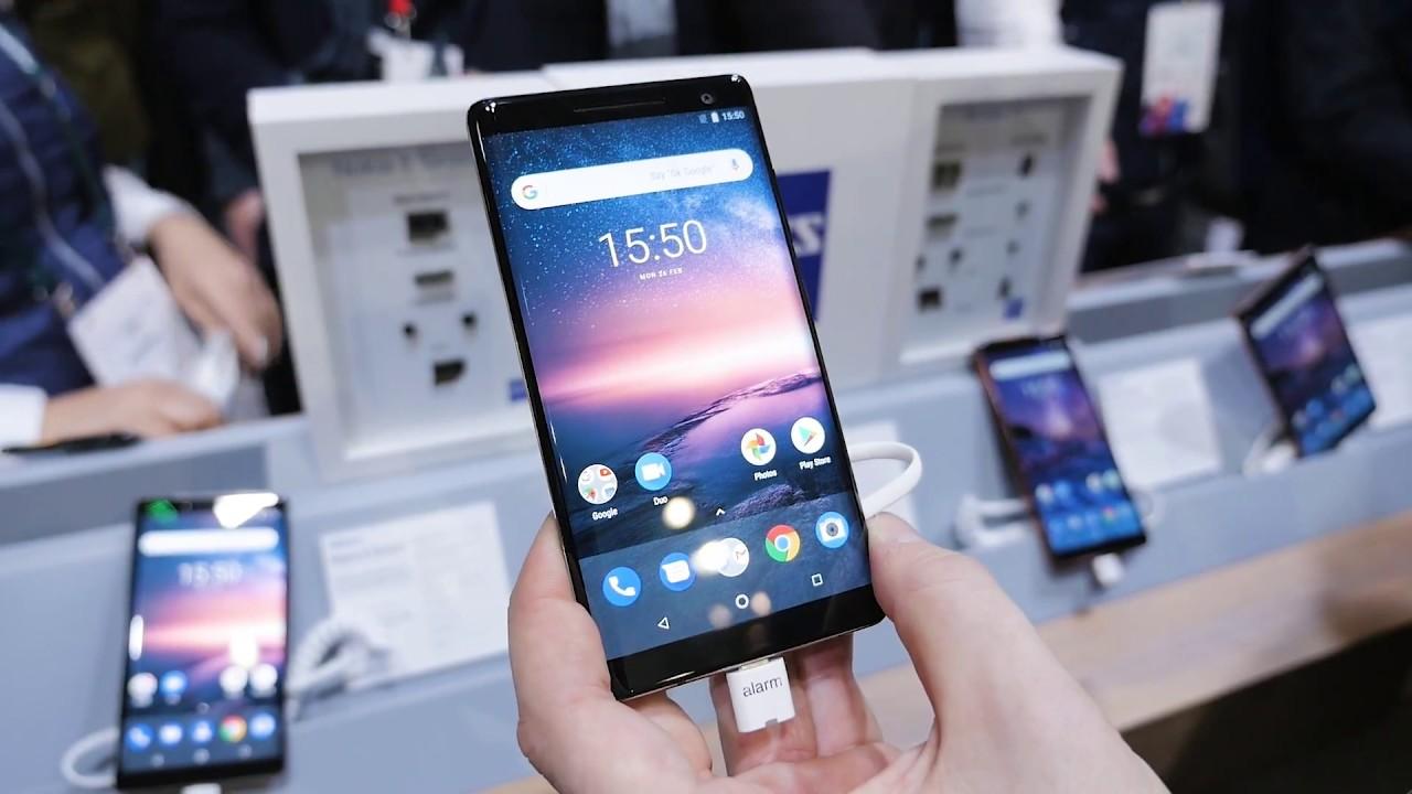Nokia 8 Sirocco, Nokia 7 Plus i Nokia 6 z Android One