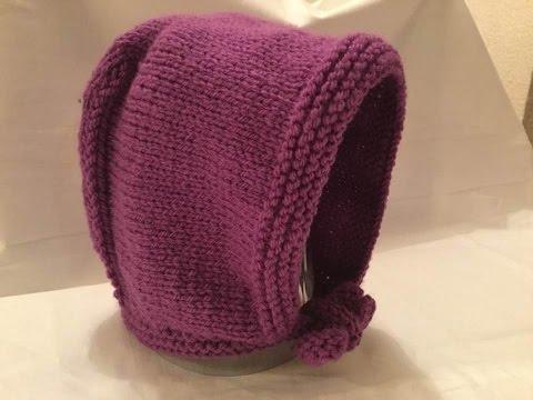 616ac05590a0 Tuto bonnet béguin sans couture pour bébé 3mois - YouTube
