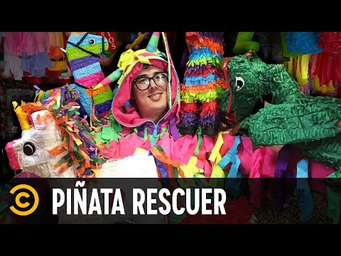 This Man Rescues Piñata Animals - Mini-Mocks