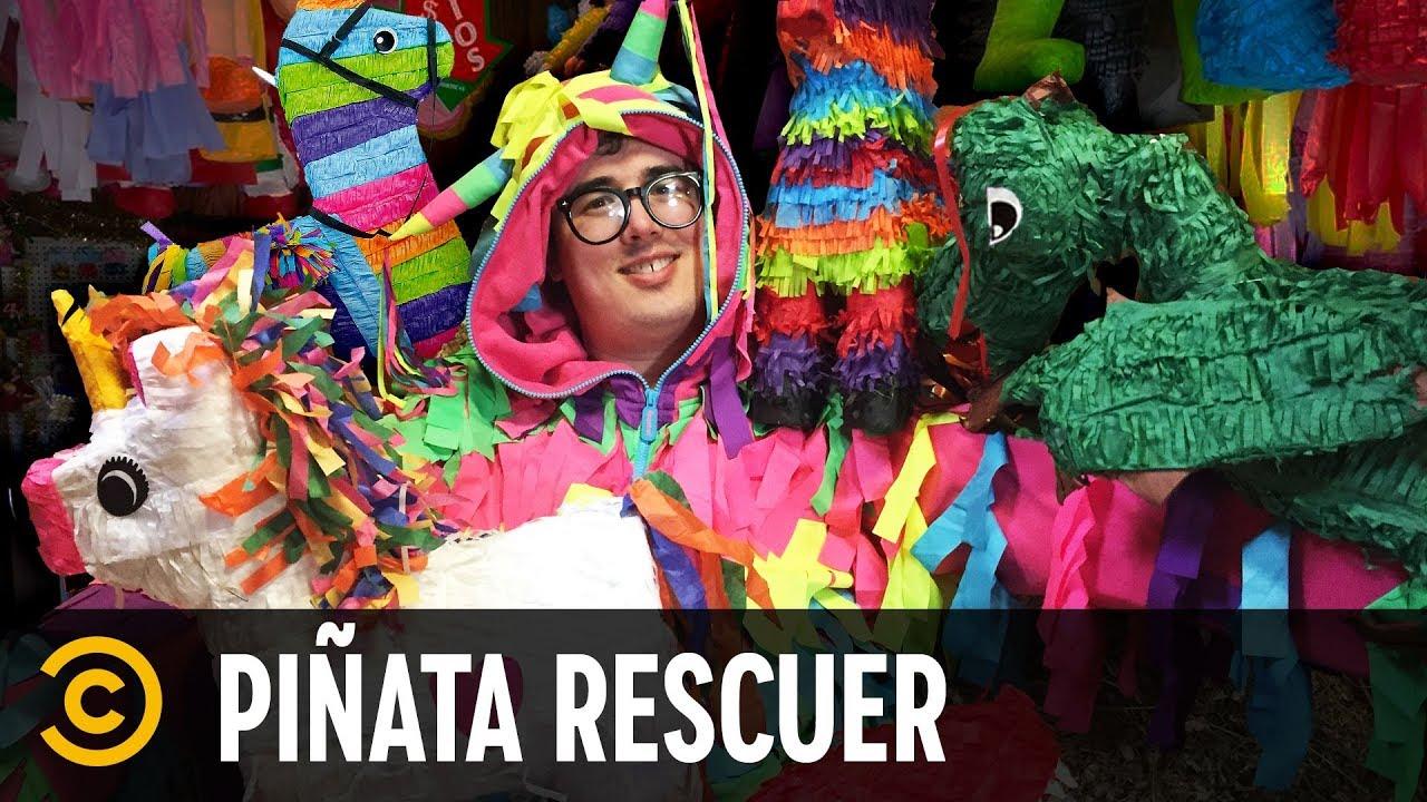 This Man Rescues Piñata Animals - Mini-Mocks