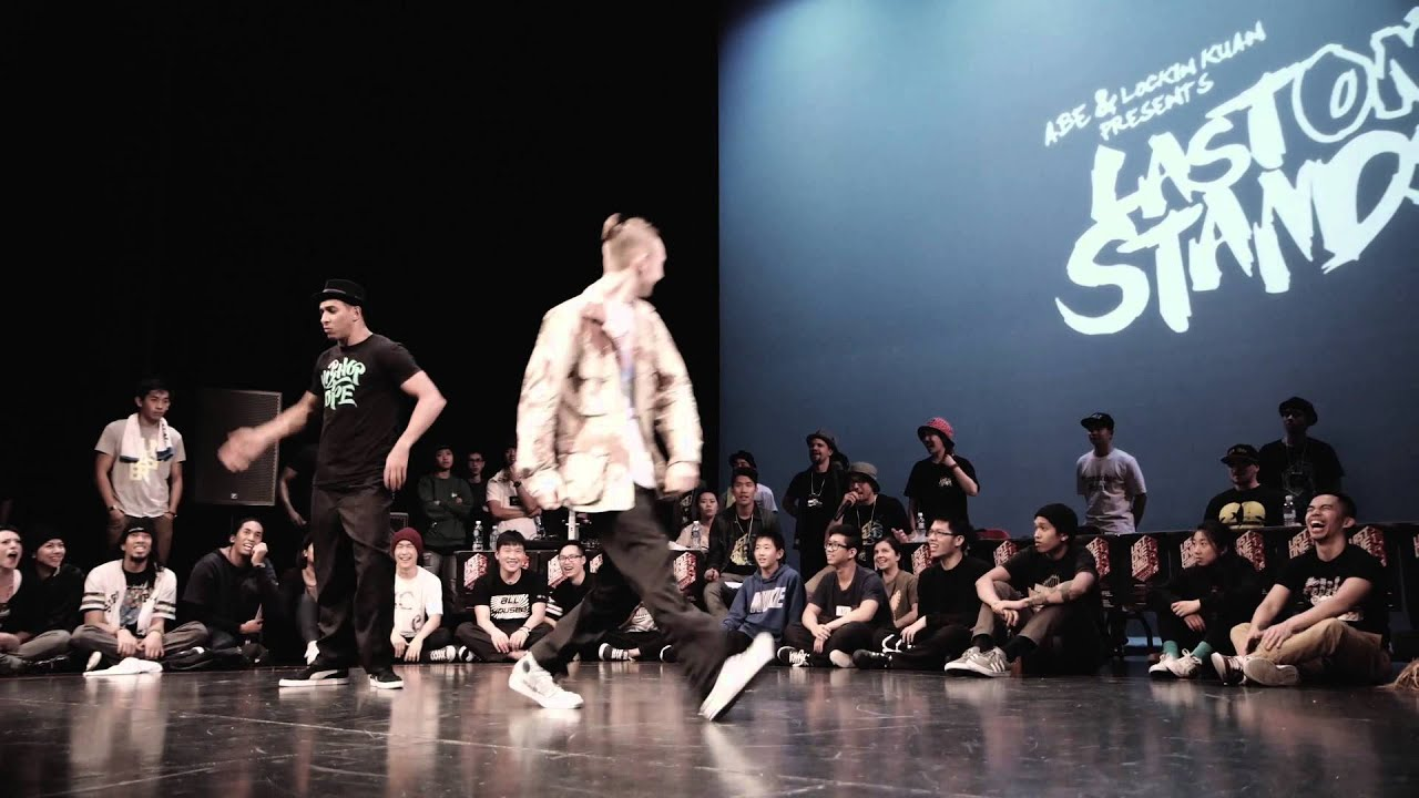 Last One Stands 2014 Popping Top 16: SALAH (France) VS GADGET (Vancouver)