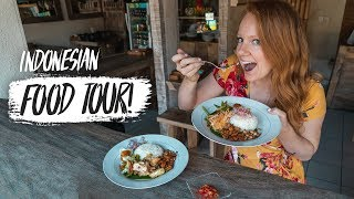 Indonesian Street Food! TOP FOODS TO TRY IN BALI! Babi Guling, Ayam Be