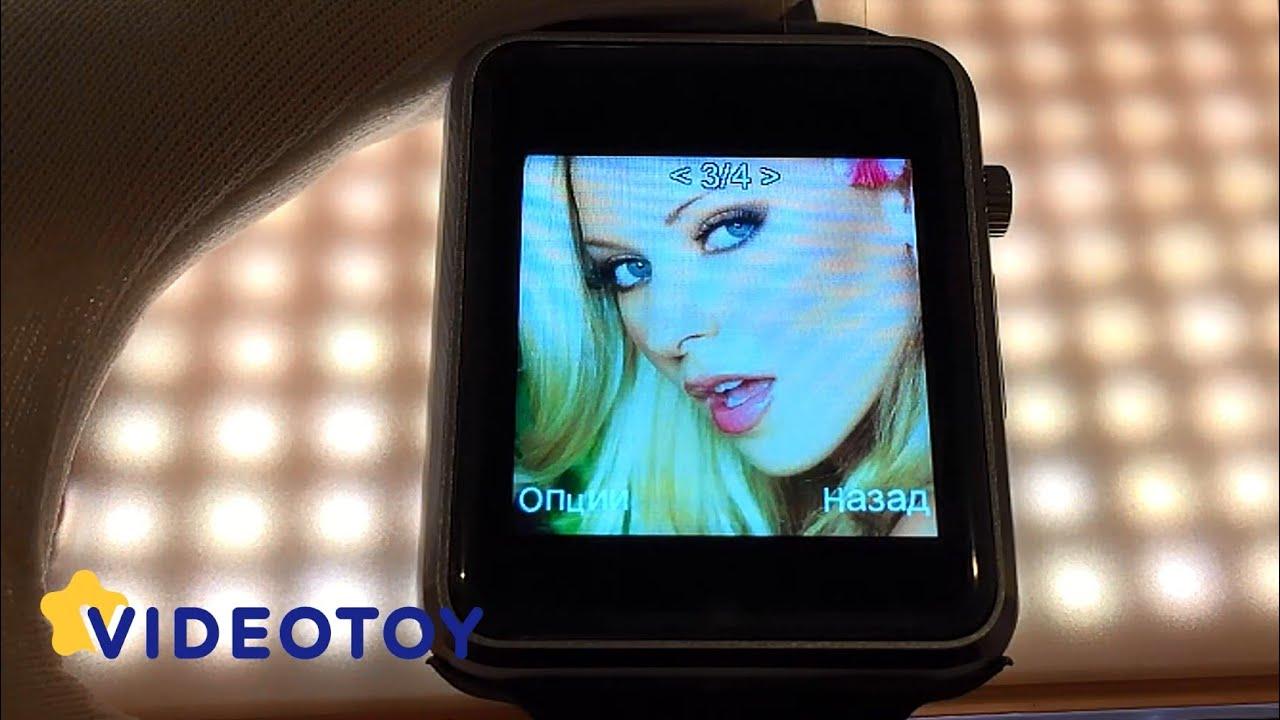 Часы smart watch gt08 black перевод