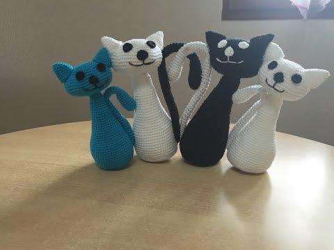 Tuto Chat Au Crochet 1/2