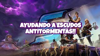 HELPING in Misones x4 - LIVE FARMEO!! - Fortnite Save the World #Dia161