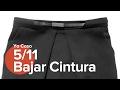 5/11 - Bajar cintura - Patronaje c/ Silvia Buera - Falda estrecha con pliegues & forro