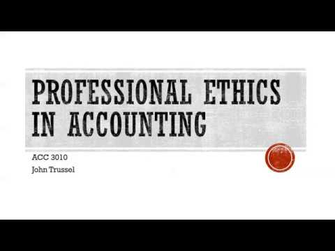 professional ethics accounting and finance The existence of accounting standards and rules per se does not guarantee  sound and appropriate financial reports, and lack of professional ethics can give  an.