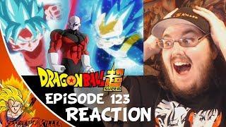 Download Video Dragon Ball Super Episode 123 HD English Subbed (VEGETA'S NEW FORM & GOKU vs JIREN) LIVE REACTION!!! MP3 3GP MP4