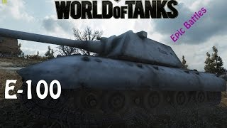 WOT EPIC BATTLE - E100 14k dmg and lost