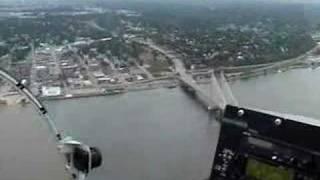 Bell 47 Over Burlington Iowa