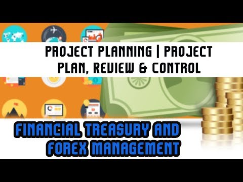 Financial Treasury & Forex Management | Project Planning | Project Plan, Review & Control | Lec 43
