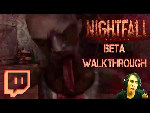 NIGHTFALL: The ESCAPE (Beta) - FULL WALKTHROUGH